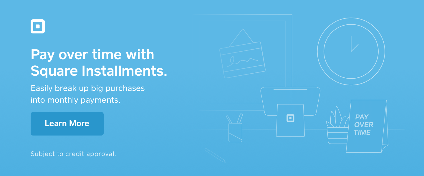 Square Installments Payment Plan